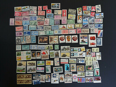 Lot of 153 different  MINT US Postage Stamps, Vintage MNH, 1-15¢ plus Airmail