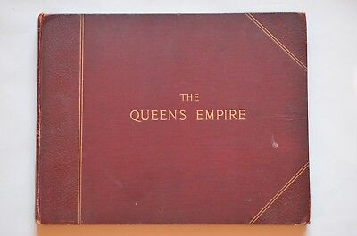 Antique Hardback The Queen's Empire Circa 1900 Published by Cassell & Company
