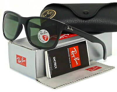 973acf34aff00 Ray-Ban Rb4181 601 9A 57Mm Black   Polarized Green Classic G-15
