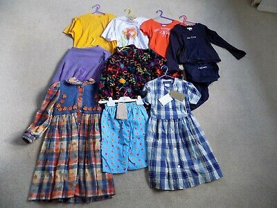 Job Lot Girls Designer Clothes Age 6 Inc Hilfiger Dkny French Some Bnwt 10 Items
