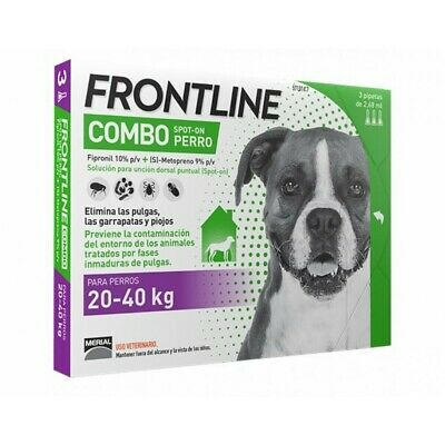 Frontline Combo for Large Dogs - Tick and Flea Spot On treatment - Free Ship.