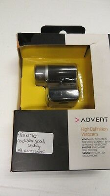 ADVENT AWC113 720p High Definition Webcam with Microphone BNIB  inc VAT