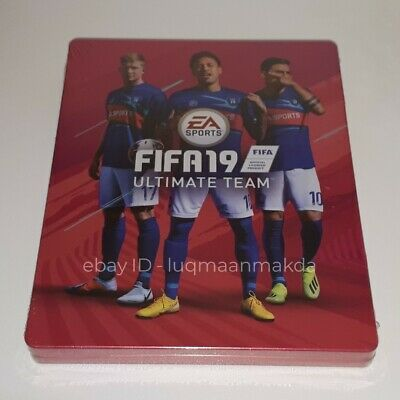 Fifa 19 Fut 19 Steelbook | Ps4 Ps3 Xbox One 360 | Brand New Sealed | No Game