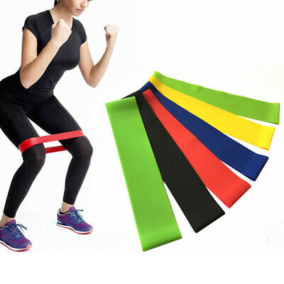 Latex Training Crossfit Workout Elastic Yoga Loop Exercise Gym Resistance Band