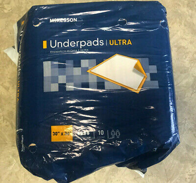 McKesson Ultra Thick Adult Underpads Super Absorbent Incontinent Pads