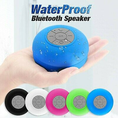 POKANIC Bluetooth Speaker Waterproof Mic Mini Resistant Shower Outdoor Potable
