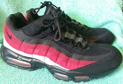 NIKE AIR MAX 95 DEEP RED Black neutral Gray Varsity Men's Sneakers scarpa Size 13