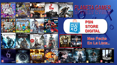 PS3 Digital Games (GameShare)