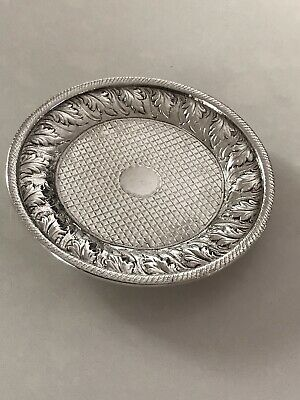 Kirk Coin Silver Small Plate