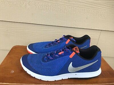 sale retailer 7c71f 80266 2016 Nike Flex Experience RN 5 Men s Athletic Running Shoes Blue Size 9.5