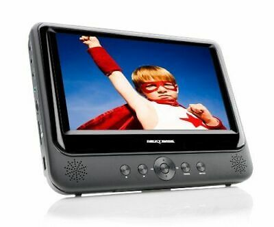 Nextbase SDV48-AC 7 inch Portable DVD Player with Car Kit Battery