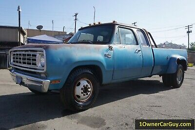1976 Dodge Ram 3500 D30 440 V8 Club Cab 76 Dodge Truck D30 Dually 440 V8 Club Cab 1 Ton 440 Big Block Investment Classic