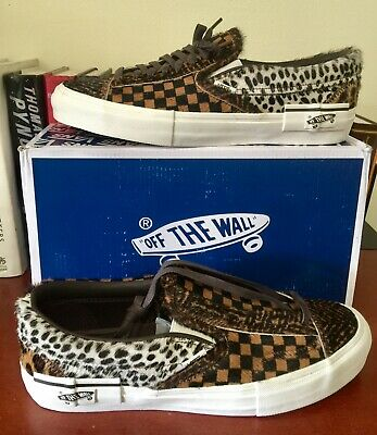 a29b9f54324 VAULT BY VANS Slip-On Cap LX PONY Cut and Paste Animal Pack Size 12 ...