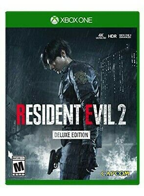 Resident evil 2 remake DELUXE EDITION for xbox one - No cd-- READ DESCRIPTION