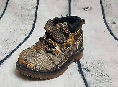 456a2756b8c19 GARANIMALS REALTREE BOYS Toddler Camouflage Boots Size 5 Kids Casual ...