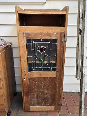 Old Cupboard With Leadlight