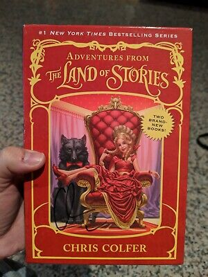 Adventures from the Land of Stories Set Signed by Chris Colfer