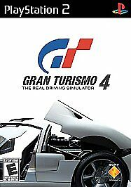 Gran Turismo 4  (Sony PlayStation 2, 2006) Black Label Complete  Fast Shipp PS2