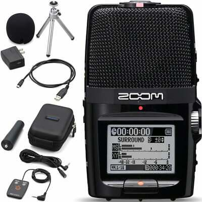 Zoom H2NAP Portable Handheld Stereo Field Recorder w. Accessory Pack - New Stock