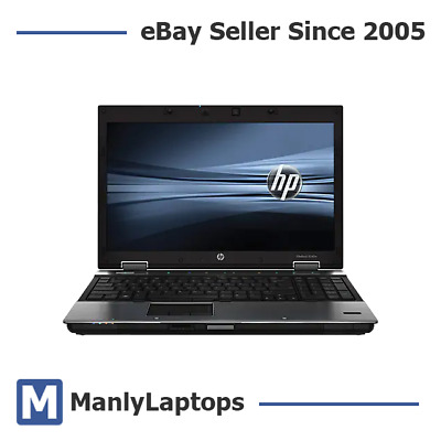 "HP ELITEBOOOK 8540w 15.6"" i7 2.8GHz 8GB 1GB GRAPHICS WIN 10 MOBILE WORKSTATION"