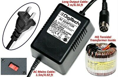 Digitech Ps0920 Power Supply Replacement Adapter Uk Ac 9v 4 Pin Din