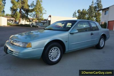 1994 Mercury Cougar XR7 94 Mercury Cougar XR7 46K Orig Mi Coupe 4.6L V8 CA Car T-bird Thunderbird body