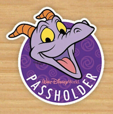 Walt Disney World 2019 Annual Passholder Figment Magnet From EPCOT Official