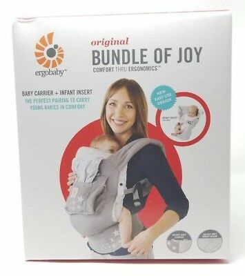 6f4430897ab NEW Ergobaby 3 Position Original Bundle Of Joy   Easy Snug Infant Insert  Carrier