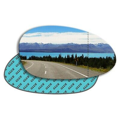 Right Side Wide Angle Heated Mirror Glass for BMW 5 series 2004-2010 0078RASH