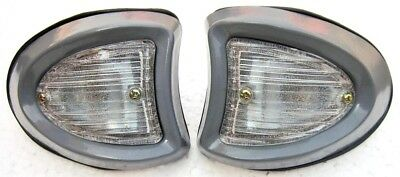 Pair Butlers 1553 Style Side Lamps Bedford TJ J J0 J1 J2 J3 Series