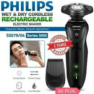 PHILIPS Series 5000 Wet and Dry Electric Shaver Cordless Beard Trimmer S5079/04