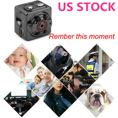 Mini Hidden Spy Digital Camera Wireless HD 1080P Video Motion Activated Cam New