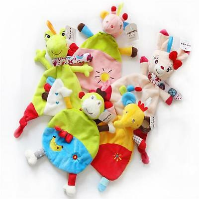 Baby Toddler Comforter Security Towel Infant Appease Towel Play Animal Doll SW