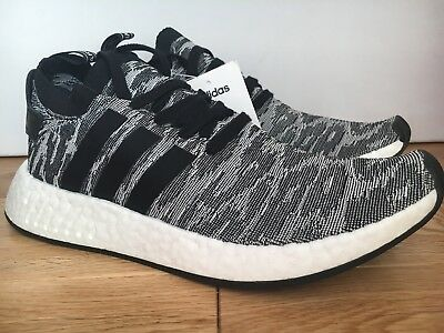 7175001d6a49d Adidas Men s NMD R2 PK UK 9 Size .Primeknit BLACK . Stunning trainer BY9409
