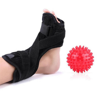 Plantar Fasciitis Dorsal Night Splint for Heel Pain Relief Foot Drop Orthotic SW