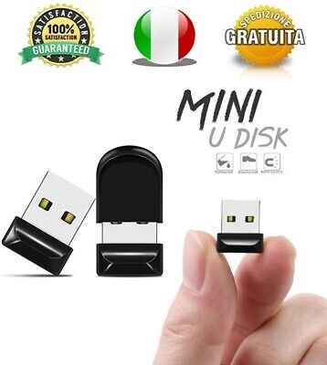 Pendrive Usb 2.0 Super Mini 16gb 32gb 64gb 128gb Chiavetta FlashDrive Piccola