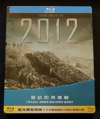 2012 - Taiwan Blu-Ray Steelbook Edition * New & Sealed *