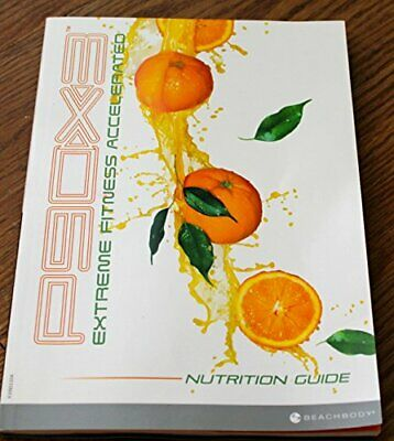 P90X3 NUTRITION / FITNESS GUIDE BOOK - EXTREME FITNESS By Beachbody *Excellent*