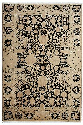 Large Handmade Carpet Rug Vintage Persian Traditional Oriental Rug 306 x 212cm