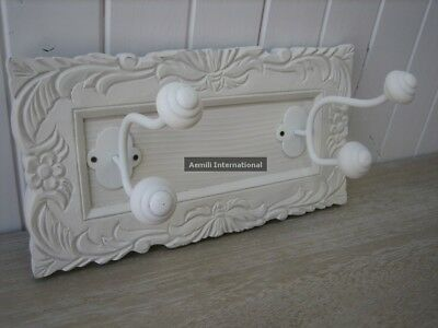 Wooden Coat Hook 30cm shabby French provincial country country chic hat ZWD-337