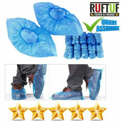 1000 Blue non slip Disposable Overshoes Boot Safety Shoe Covers Medical Sergical