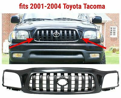 b7ec40bb59118 DARK GRAY FRONT End Grille Grill for 92-95 Toyota Pickup Truck 2WD ...