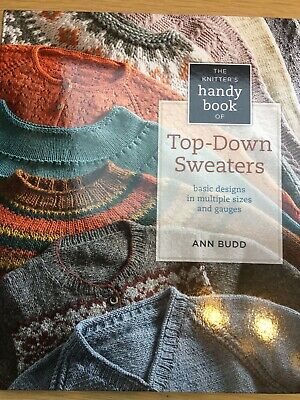 735761dc429b THE KNITTER S HANDY Book of Top-Down Sweaters - Ann Budd Hard Back ...