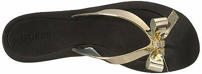 af27069d721c55 NEW AUTHENTIC GUESS Tutu Bow Flip Flops Womens Shoes US  35 -  16.50 ...