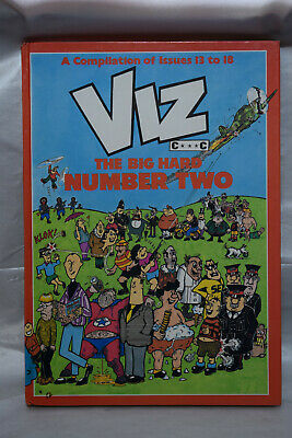 "Viz ""the Big Hard Number Two"" - 1980's Hardback Annual"
