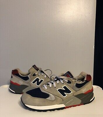 new style 549b4 fbe0d NEW BALANCE 999 Elite Edition Gray Red Men's Size 8.5 Rare Expensive
