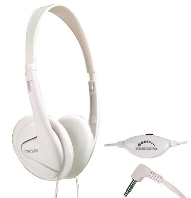 Soundlab A088 Switched Lightweight Stereo Headphones With In Line Volume Control