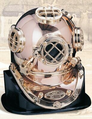 Deluxe Mark V Dive Helmet Without a Base, 18