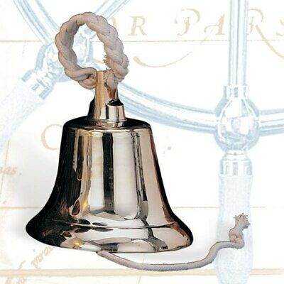Solid Brass Heavy Ship's Bell, 14""