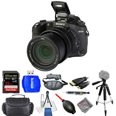 Sony Cyber-shot DSC-RX10 IV Digital Camera - Pro Bundle AUTHORIZED SONY DEALER